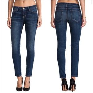 Current/Elliott The Ankle Skinny Jeans in Loved 28